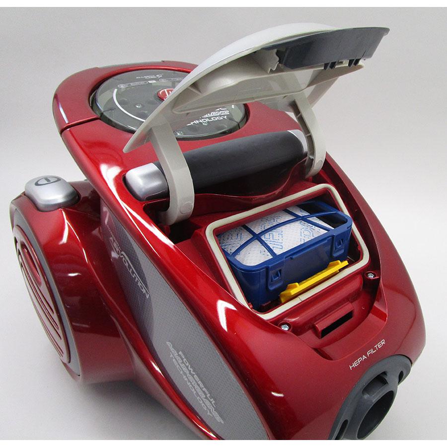 Hoover XP81 XP25 011 Xarion Pro 4A - Filtre à poussières