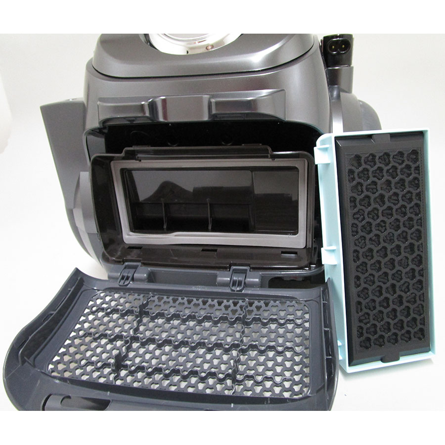 LG VWR514SA Kompressor RoboSense CordZero - Filtre sortie moteur sorti