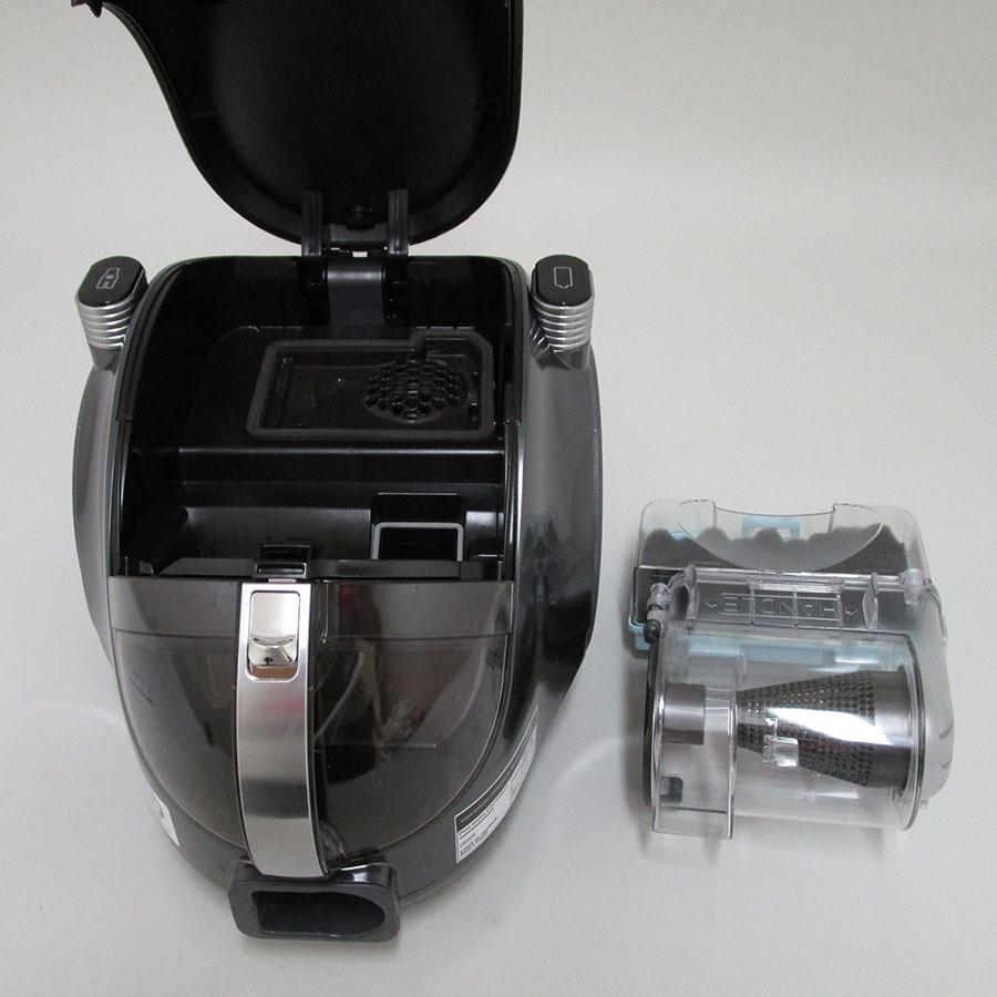 LG VWS513SA Design compact CordZero - Filtre entrée moteur sorti