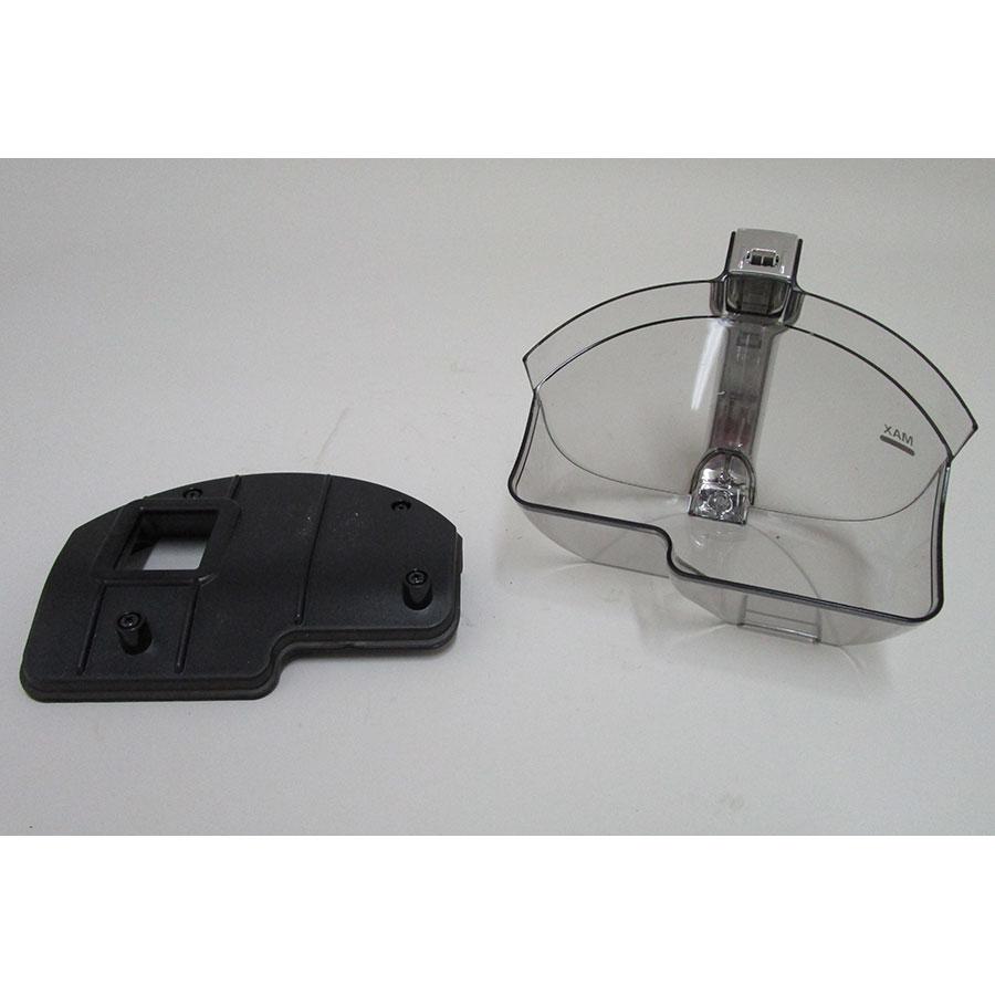 LG VWS513SA Design compact CordZero - Réservoir à poussières ouvert