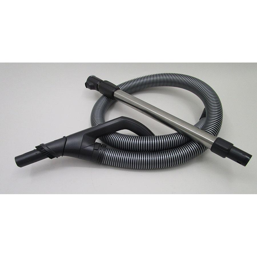 Miele Blizzard CX1 Excellence EcoLine - Flexible et tube métal télescopique
