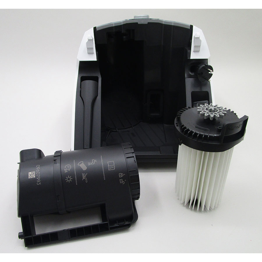 Miele Blizzard CX1 Excellence EcoLine - Réservoir à poussières avec son filtre