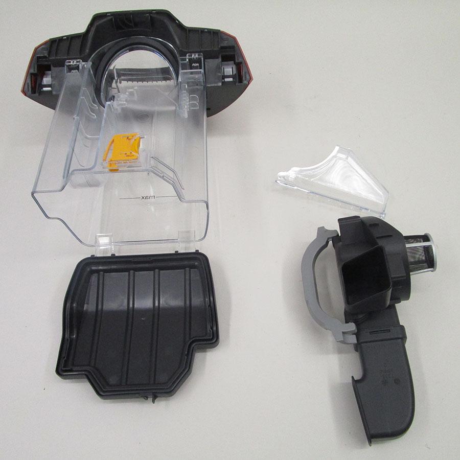 Miele Blizzard CX1 Hardfloor Ecoline SKCP3 - Réservoir à poussières avec son filtre sorti