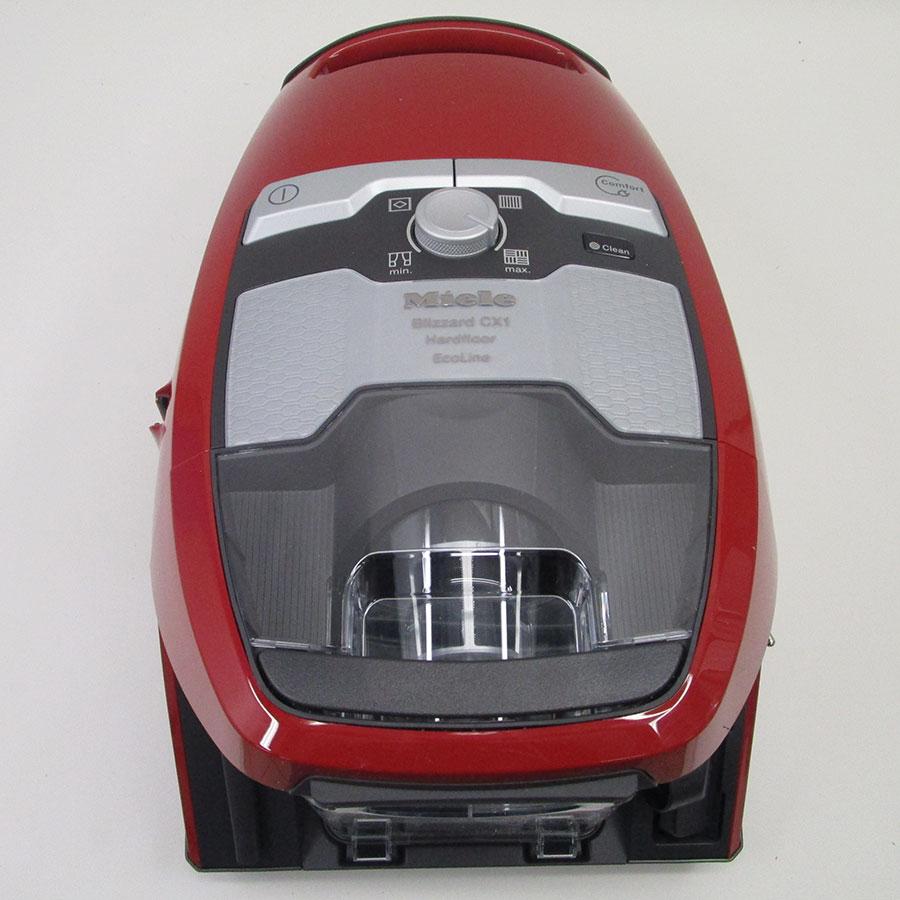 Miele Blizzard CX1 Hardfloor Ecoline SKCP3 - Vue de dessus