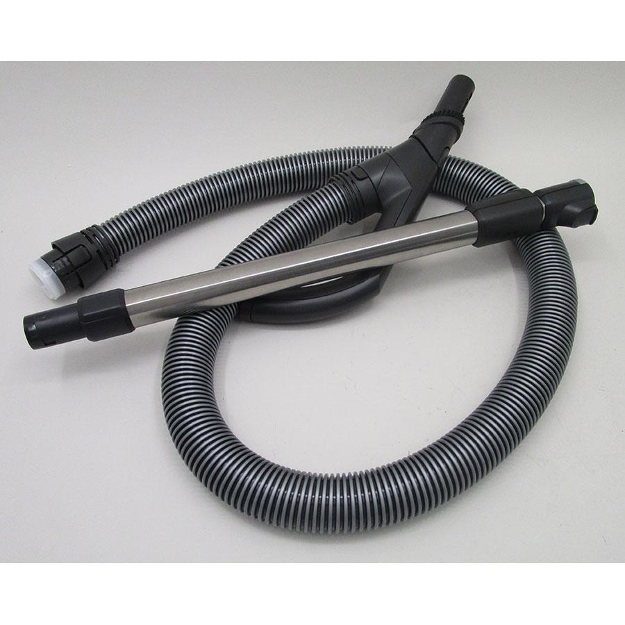 Miele Blizzard CX1 Parquet EcoLine - Flexible et tube métal télescopique