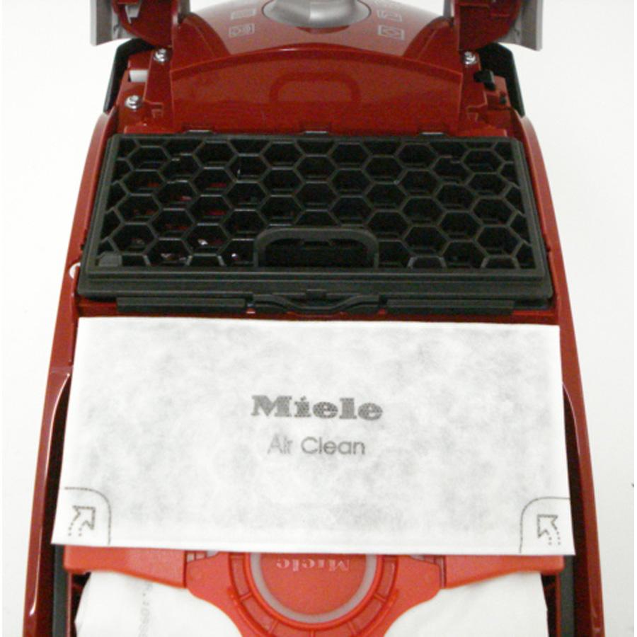 Miele Compact C1 Ecoline - Filtre sortie moteur sorti
