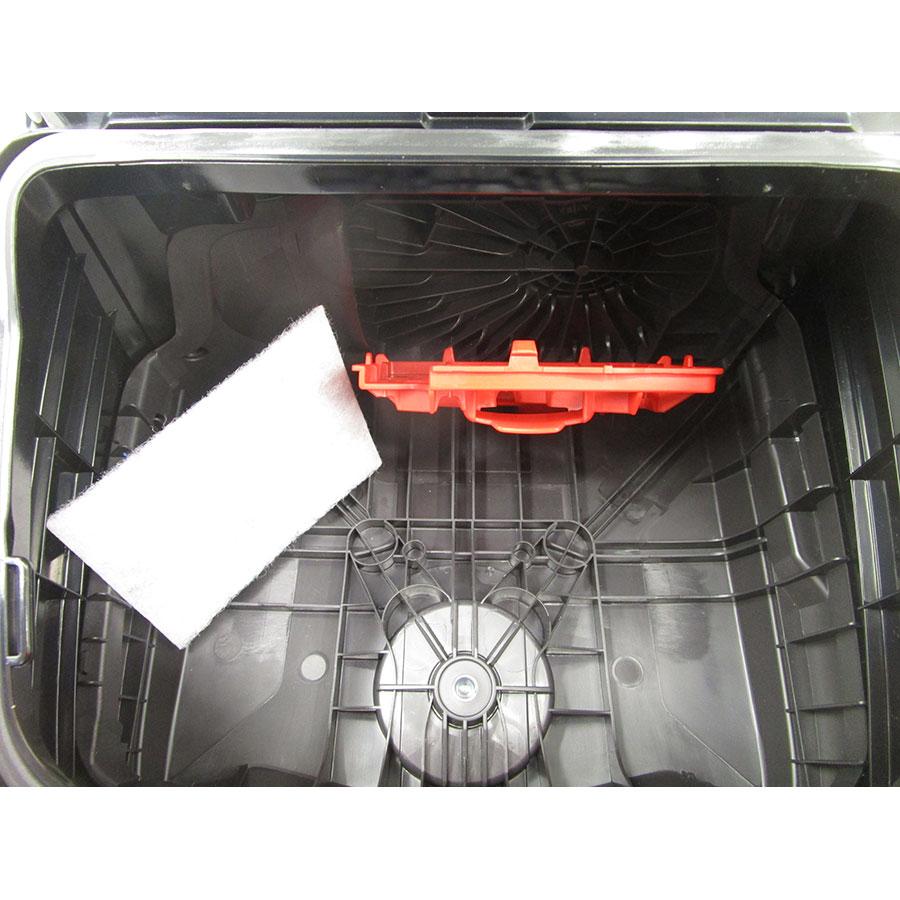 Miele Compact C2 Hardfloor Ecoline SDRP3 - Filtre entrée moteur sorti