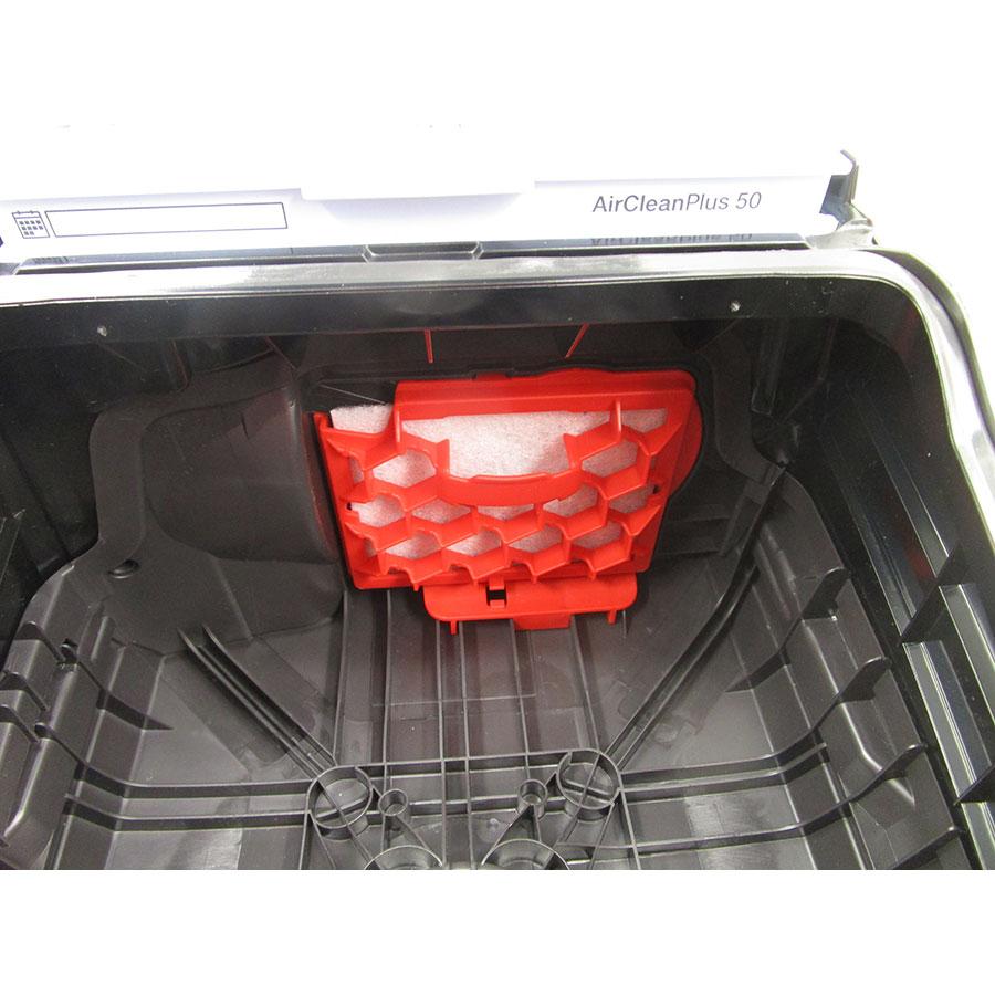 Miele Compact C2 Hardfloor Ecoline SDRP3 - Filtre entrée moteur