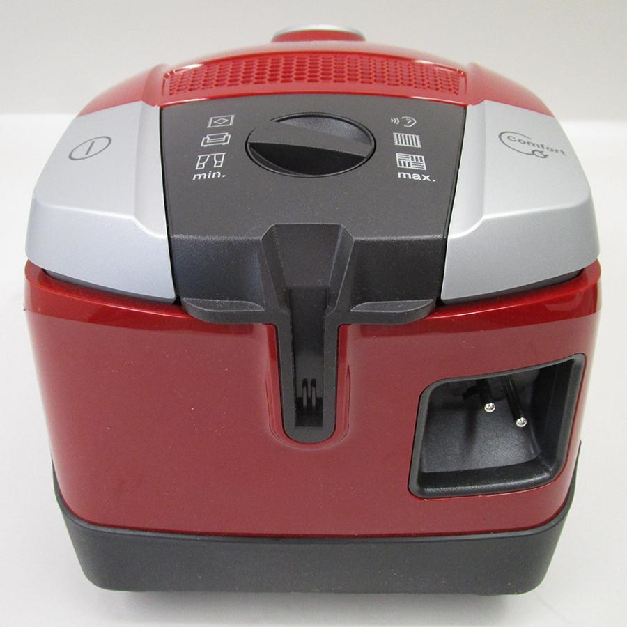 Miele Compact C2 Rouge EcoLine SDAP4 - Fixe tube arrière et sortie de câble