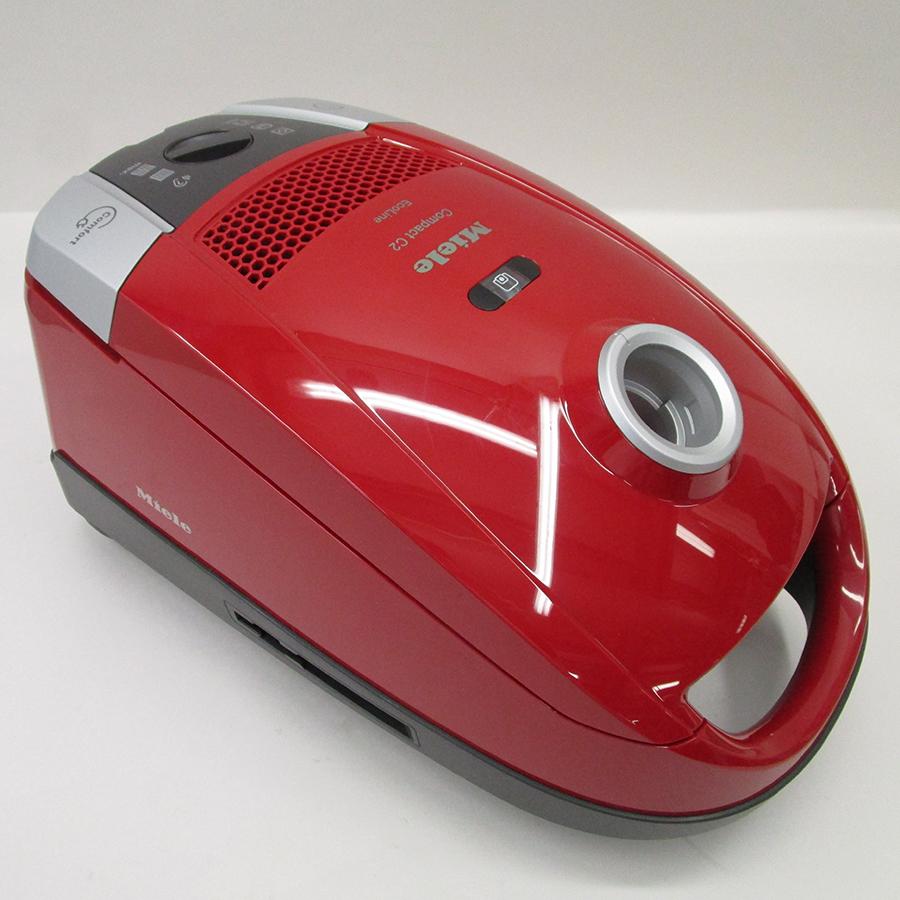 Miele Compact C2 Rouge EcoLine SDAP4 - Corps de l'aspirateur sans accessoires