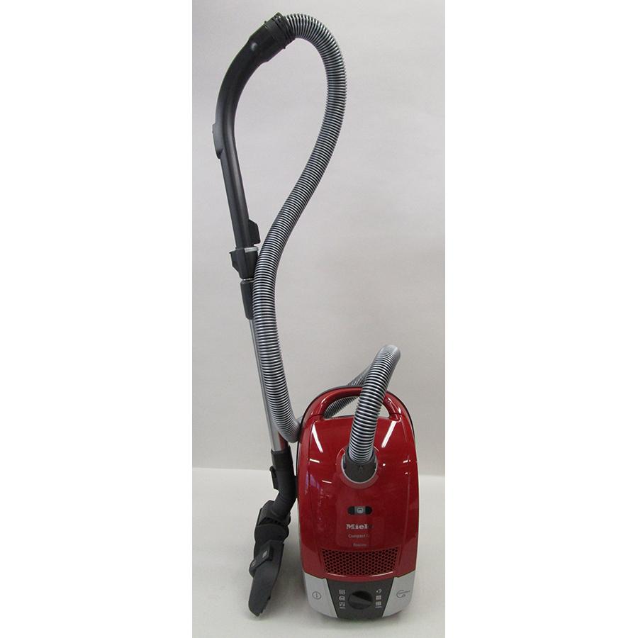 Miele Compact C2 Rouge EcoLine SDAP4 - Vue d'ensemble en position parking