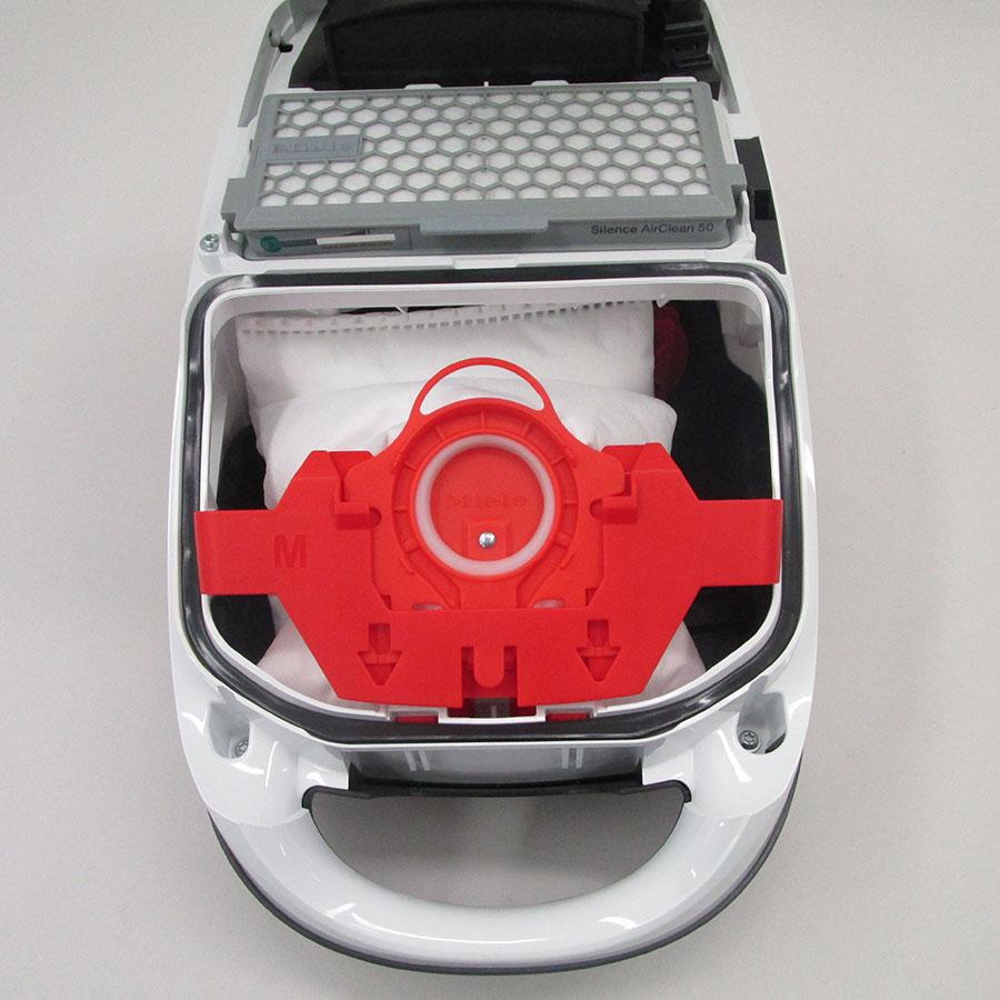 Miele Compact C2 Silence EcoLine SDRK3 - Compartiment à sac ouvert