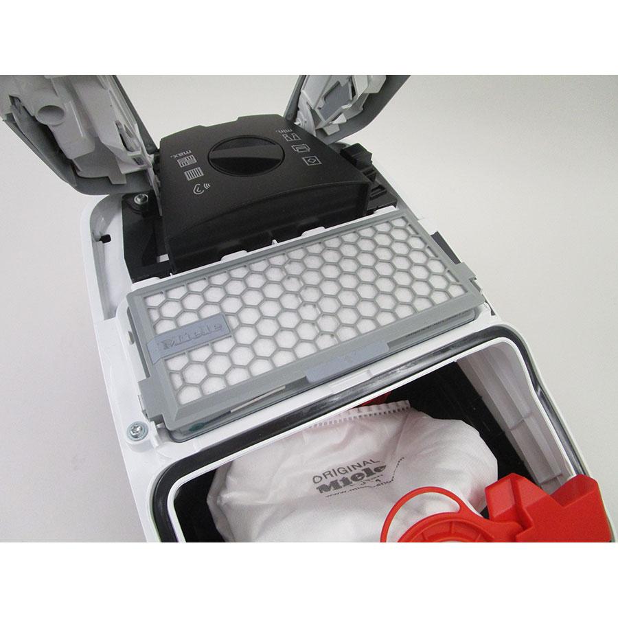 Miele Compact C2 Silence EcoLine SDRK3 - Filtre sortie moteur