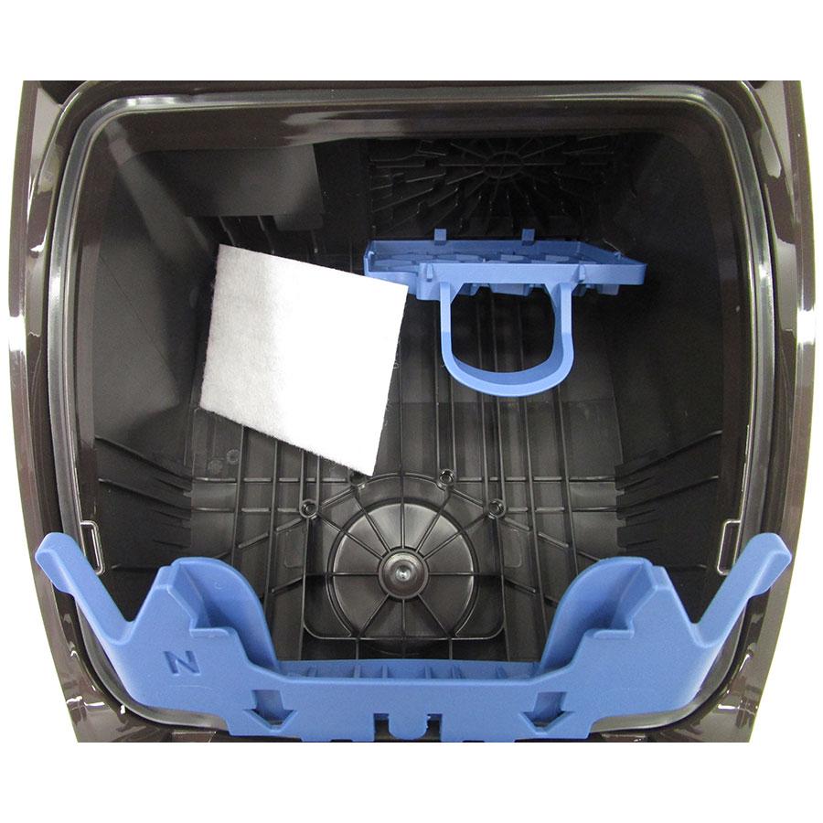 Miele Complete C3 Hardfloor Ecoline SGSP3 - Filtre entrée moteur sorti