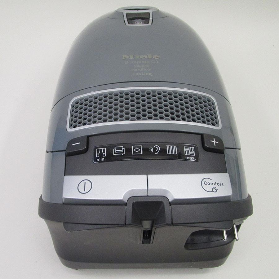 Miele Complete C3 Silence Hardfloor SGSK3 - Vue de dessus