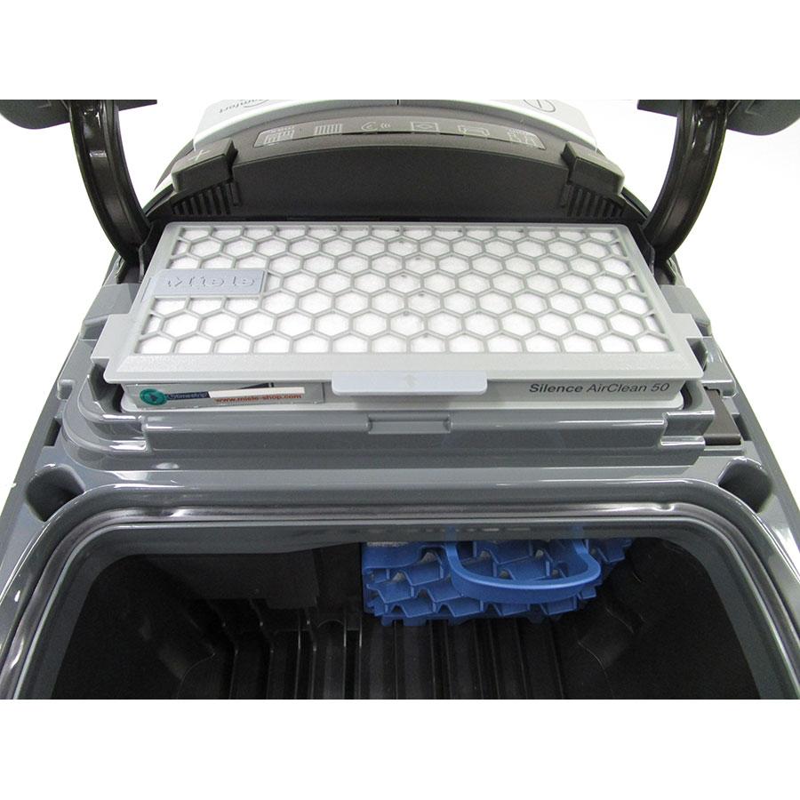 Miele Complete C3 Silence Hardfloor SGSK3 - Filtre sortie moteur