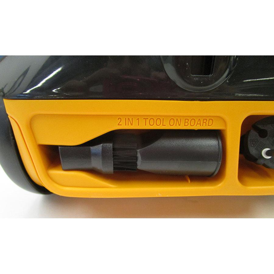 Moulinex MO2664PA City Space Parquet - Compartiment de rangement des accessoires