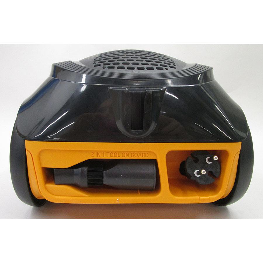 Moulinex MO2664PA City Space Parquet - Fixe tube arrière et sortie de câble