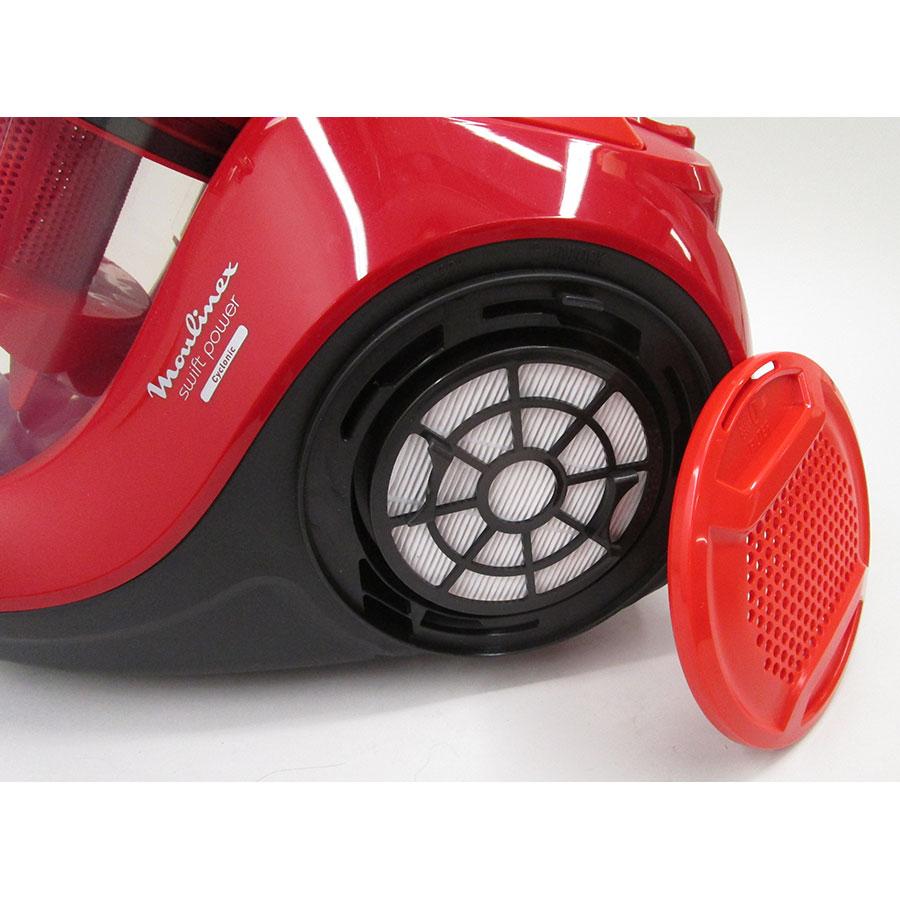 Moulinex MO2913PA Swift Power Cyclonic - Filtre sortie moteur