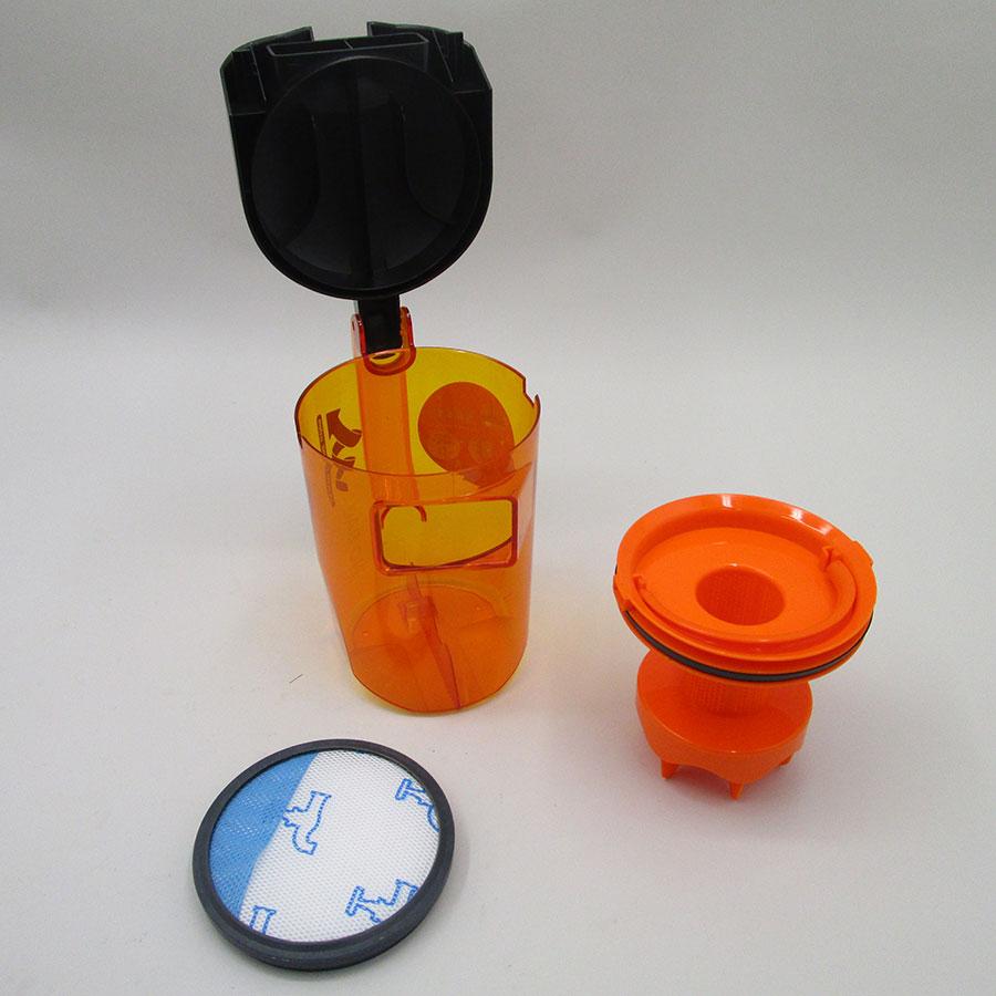 Moulinex MO3723PA Compact Power Cyclonic - Réservoir à poussières avec son filtre