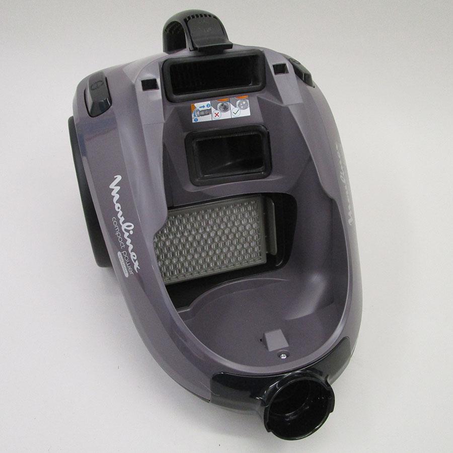 Moulinex MO3736PA Compact Power cyclonic parquet - Filtre entrée moteur
