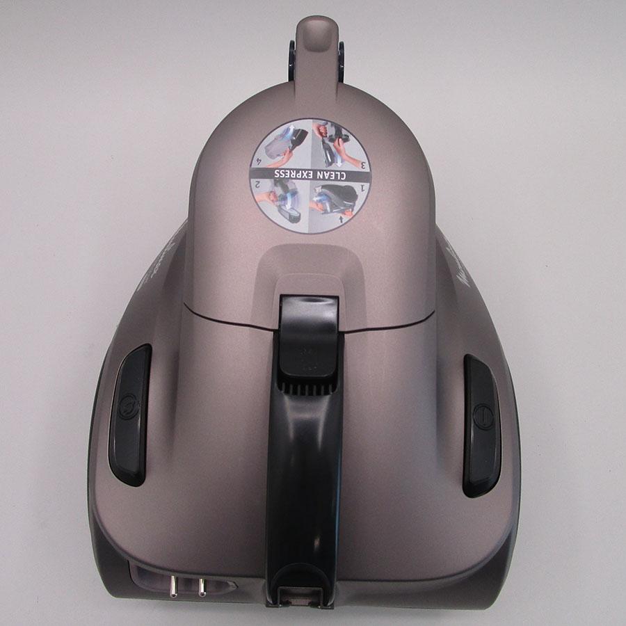 Moulinex MO3786PA Compact Power Cyclonic - Vue de dessus
