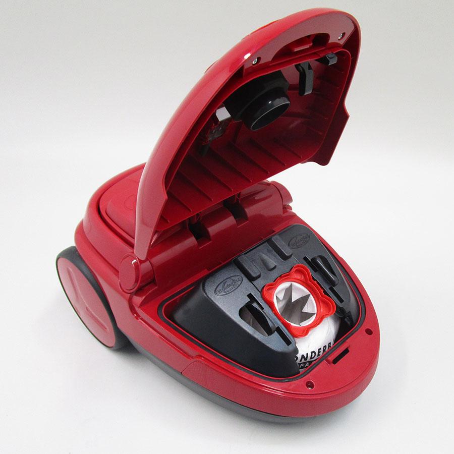 Moulinex MO5233PA Compacteo Ergo - Compartiment à sac ouvert