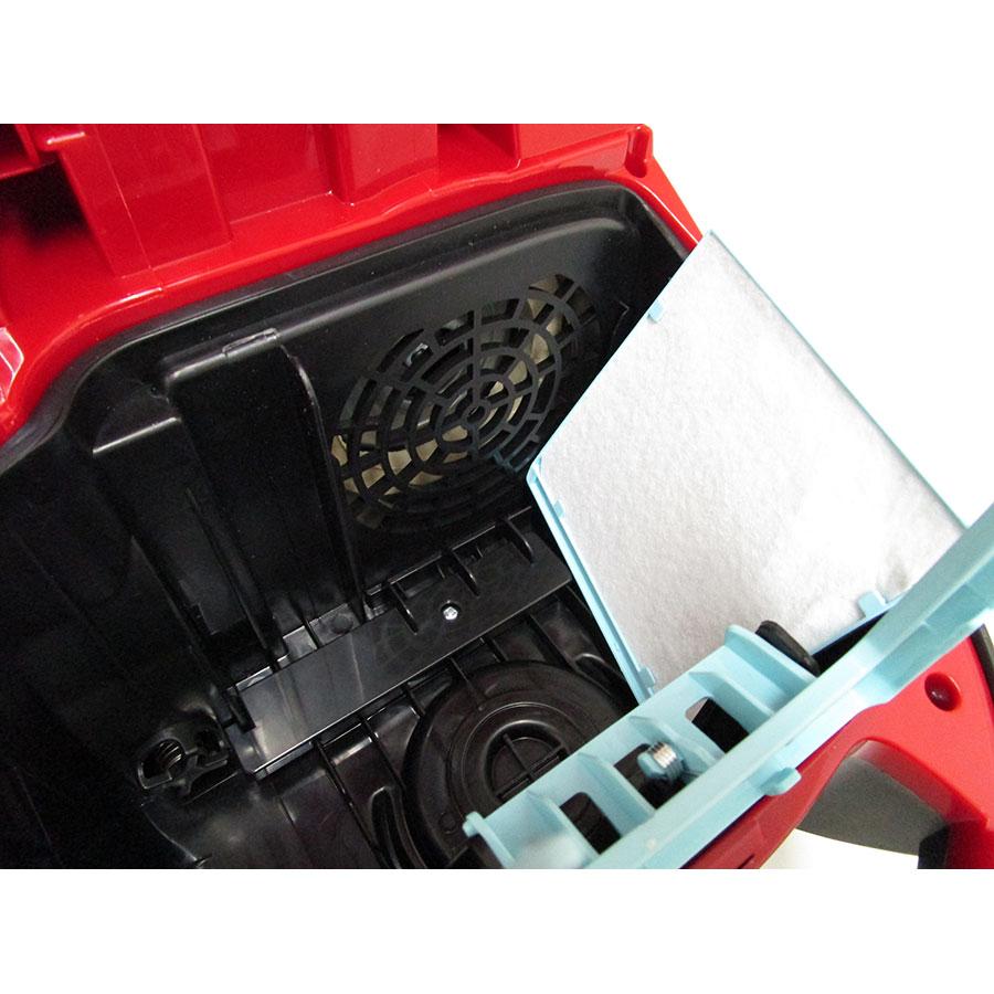 Philips FC8322/09 PowerLife - Filtre entrée moteur sorti