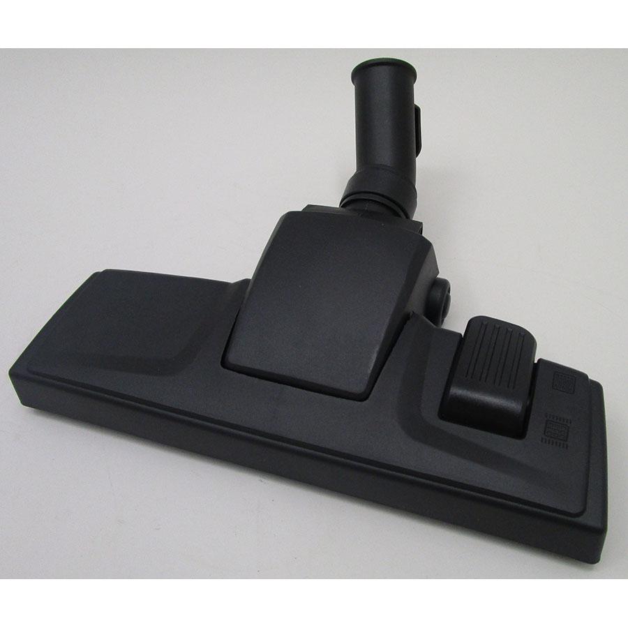 Quigg (Aldi) MD16895 - Brosse universelle : sols durs et moquettes