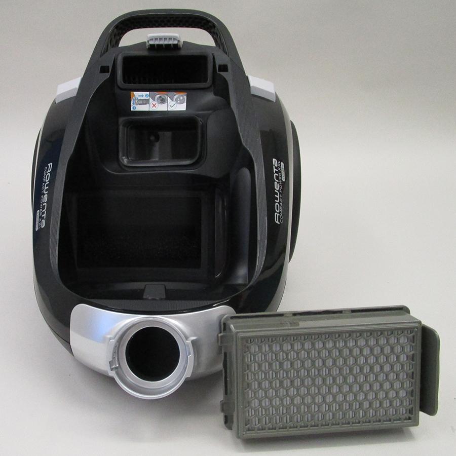 Rowenta RO4825EA Compact Power XXL  - Filtre sortie moteur sorti