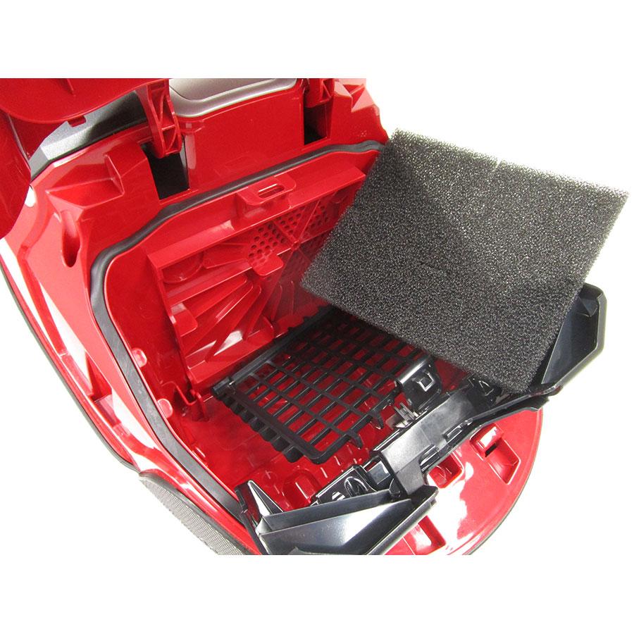 Rowenta RO6373EA Silence Force Compact 4A+AAA Home & Car Pro - Filtre entrée moteur sorti