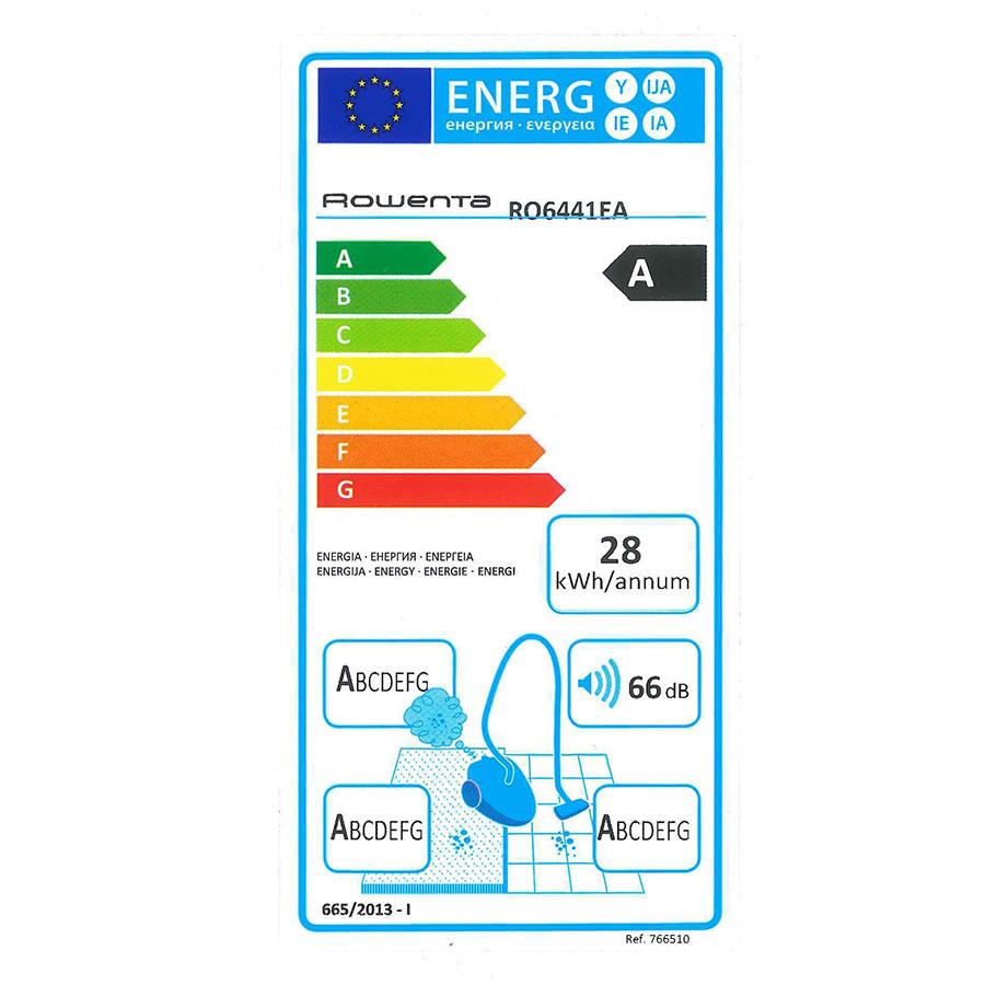 Rowenta RO6441EA Silence Force 4A - Étiquette énergie