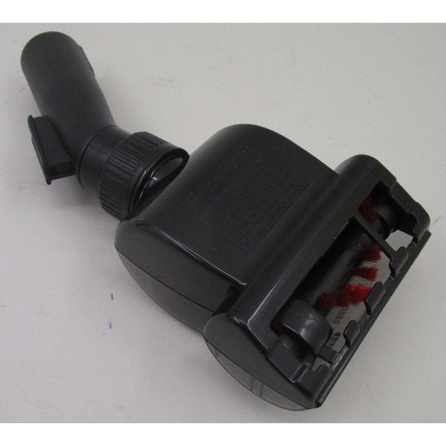 "Rowenta RO6493EA Silence Force 4A+ ""Home & Car"" - Mini turbo brosse vue de dessous"