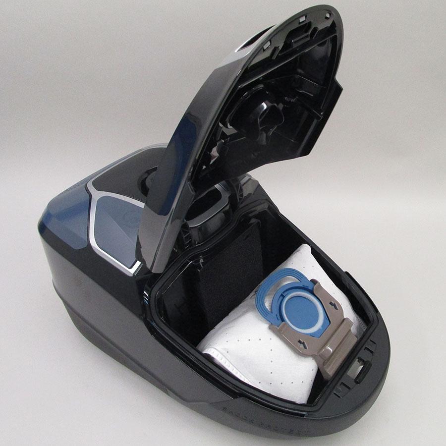 Rowenta RO6866EA X-Trem Power 3A+AA Parquet - Compartiment à sac ouvert