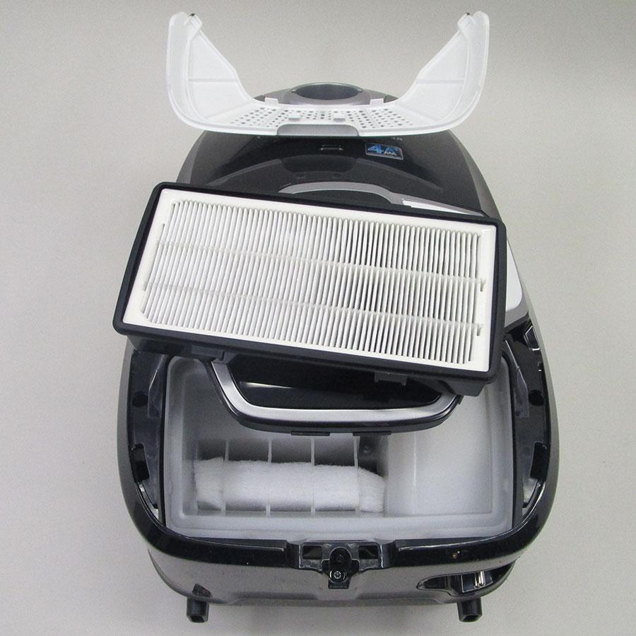 Rowenta RO6887EA X-Trem Power 4A+ Car Pro - Filtre sortie moteur sorti