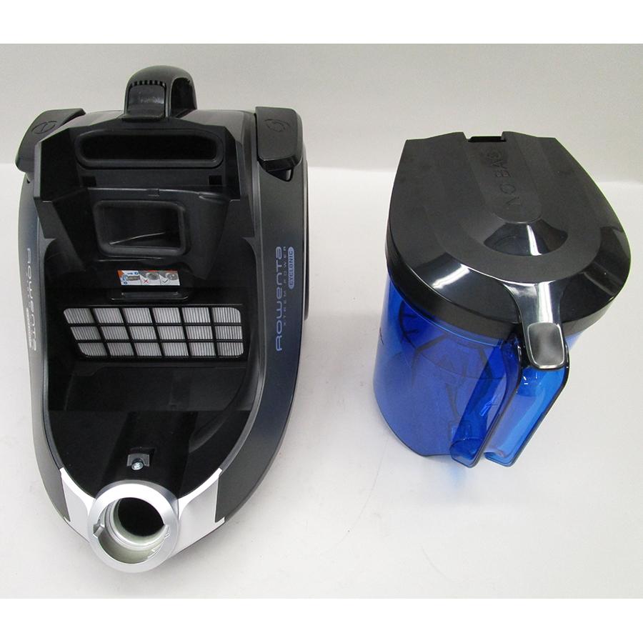Rowenta RO6940EA X-Trem Power Cyclonic - Retrait du compartiment à poussières