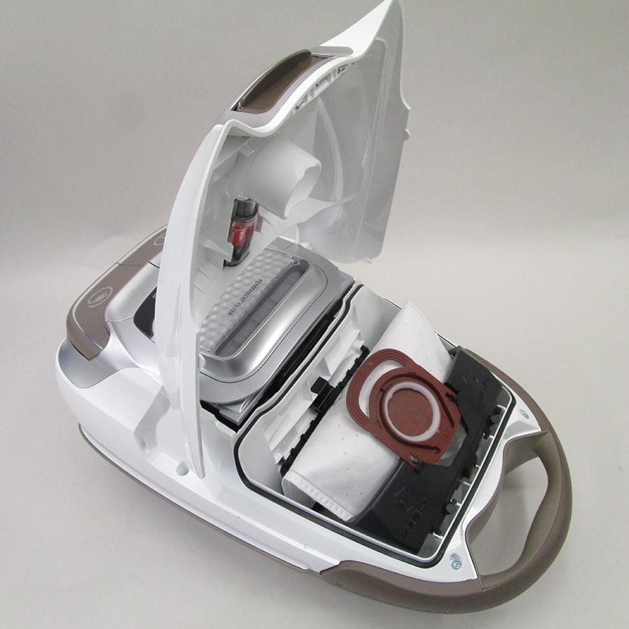 Rowenta RO7487EA Silence Force - Compartiment à sac ouvert