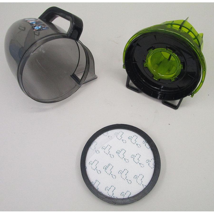 Rowenta RO7612EA Silence Force Cyclonic 4A+ - Réservoir à poussières avec son filtre sorti
