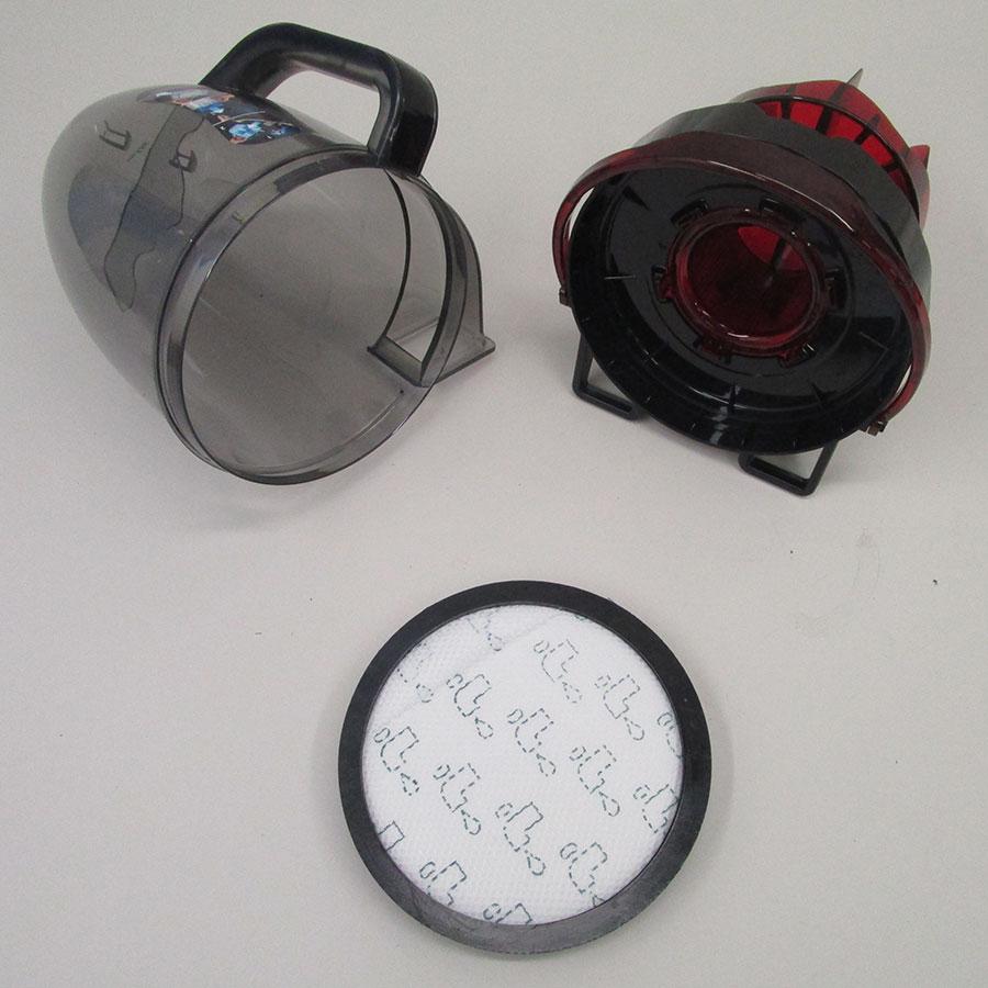 Rowenta RO7643EA Silence Force Cyclonic 4A+ Home & Car - Réservoir à poussières avec son filtre sorti