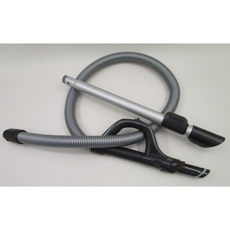 "Rowenta RO7647EA Silence Force Cyclonic 4A ""Parquet Pro"" - Flexible et tube métal télescopique"