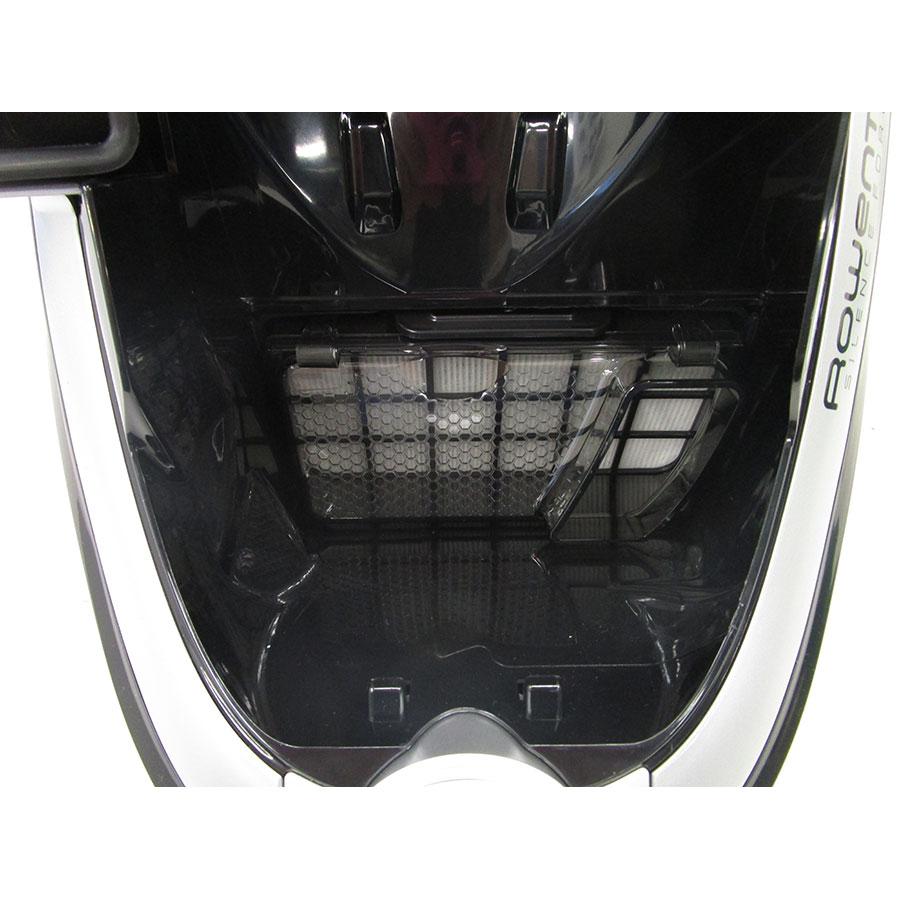 Rowenta RO7686EA Silence Force Cyclonic 4A+ Home & Car Pro - Filtre entrée moteur