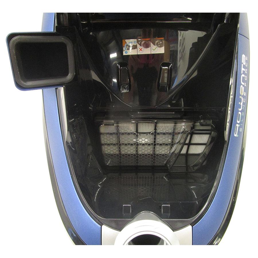 Rowenta RO7691EA Silence Force Cyclonic 4A+ Animal Care Pro - Filtre entrée moteur