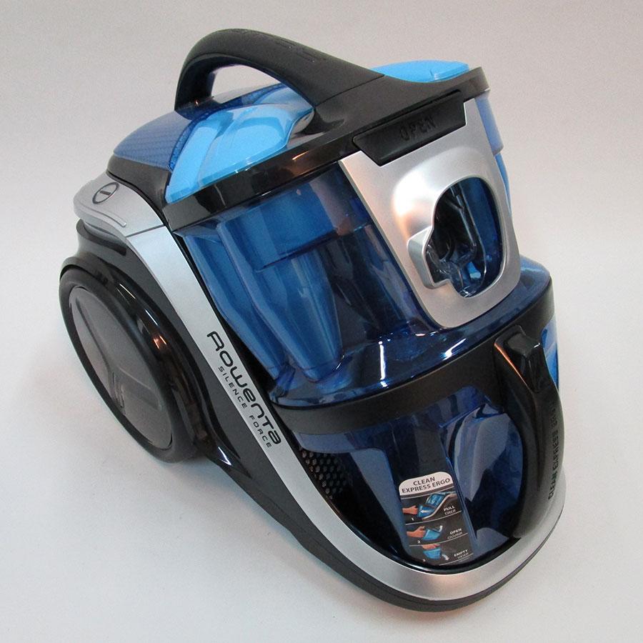 Rowenta RO8341EB Silence Force Multi-cyclonic - Corps de l'aspirateur sans accessoires
