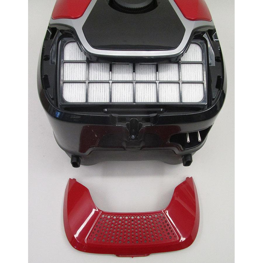 Rowenta YY4186FE X-Trem Power + Animal Kit  - Filtre sortie moteur
