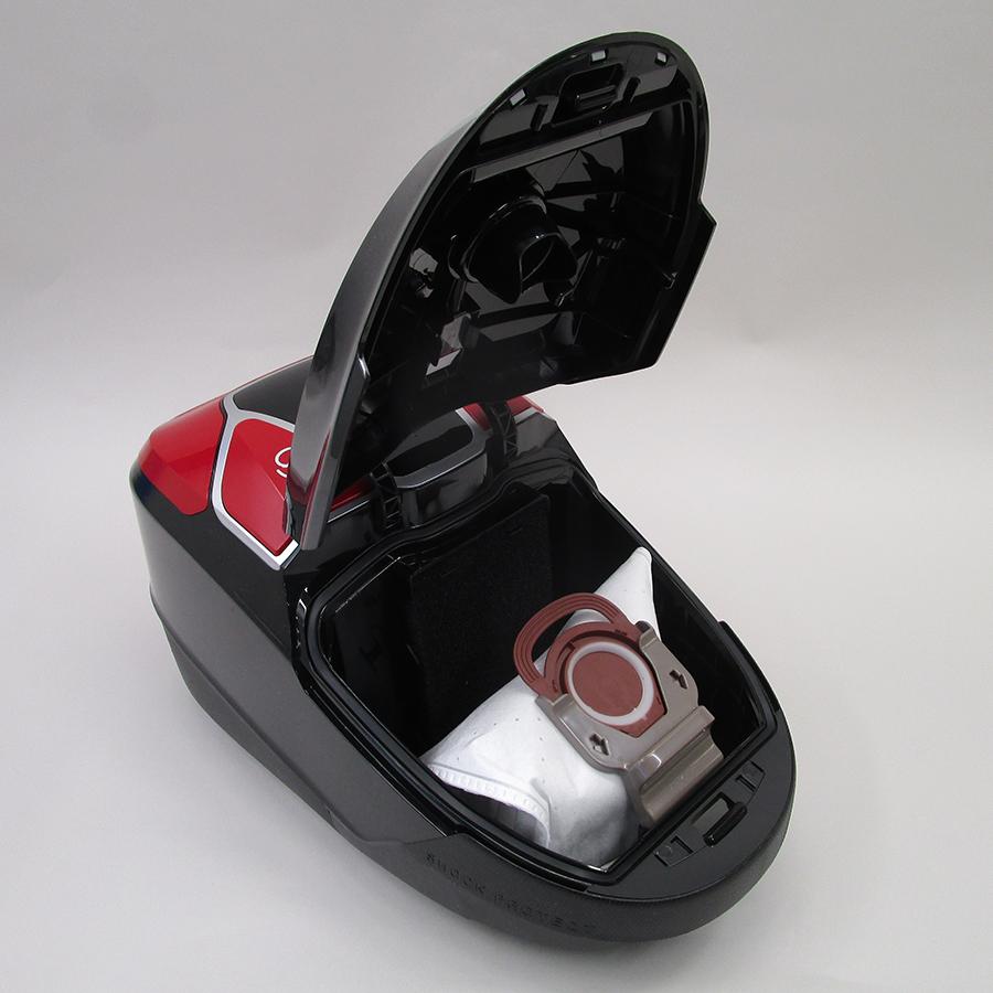 Rowenta YY4585FB X-Trem Power Animal Care Pro - Compartiment à sac ouvert