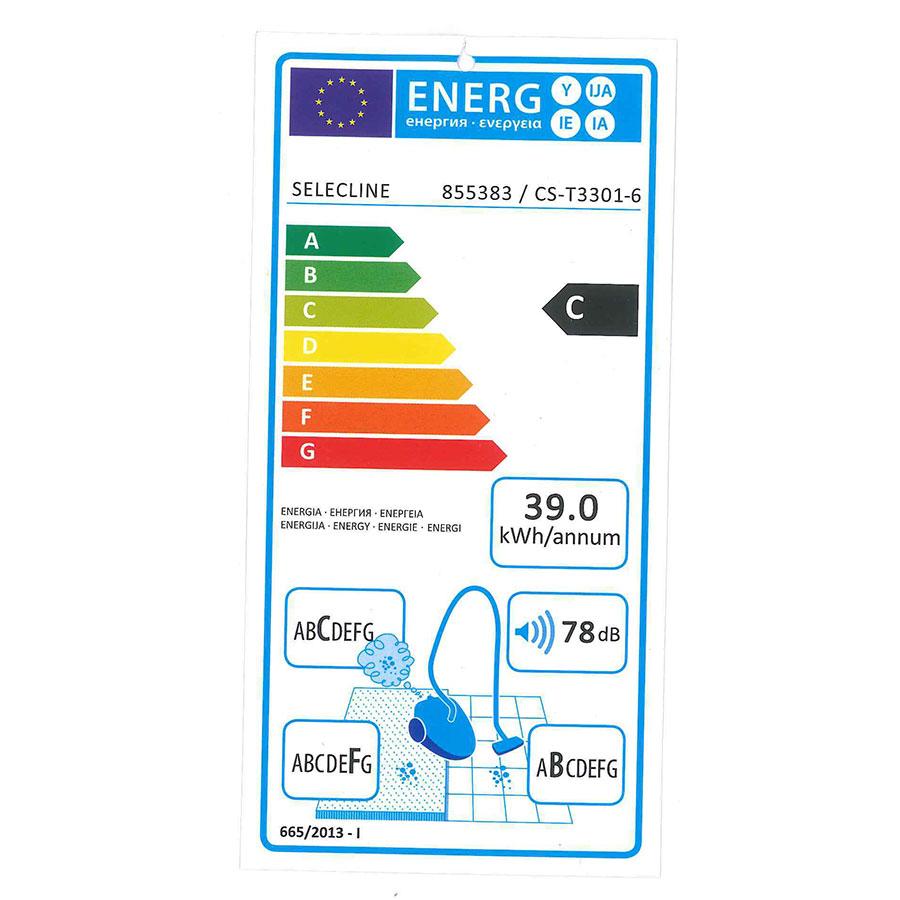 Selecline (Auchan) CS-T3301-6 855383 - Étiquette énergie