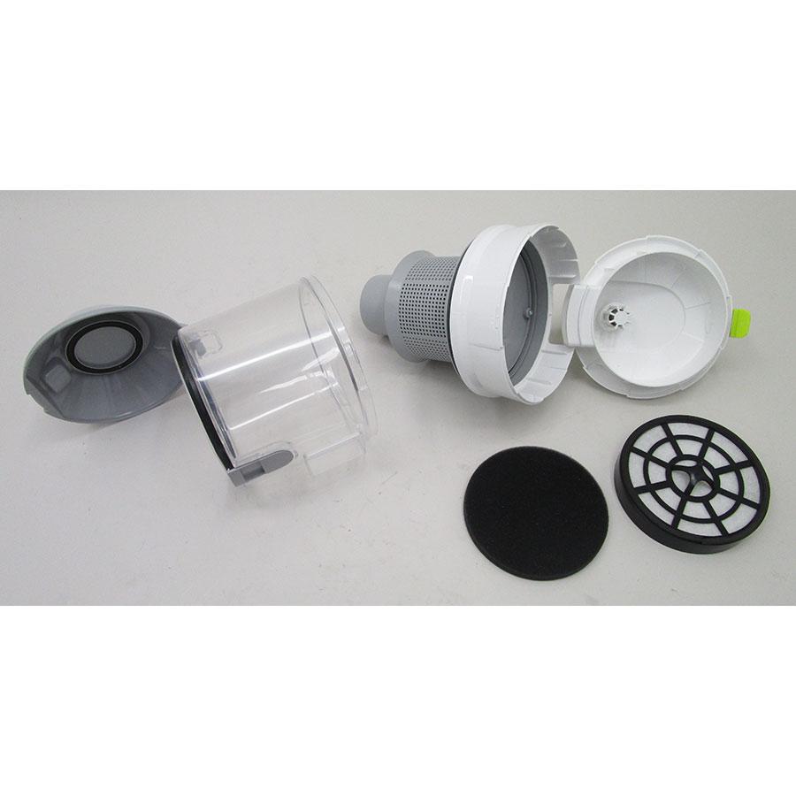 Selecline (Auchan) XC3514CW-80/871031 - Réservoir à poussières avec son filtre