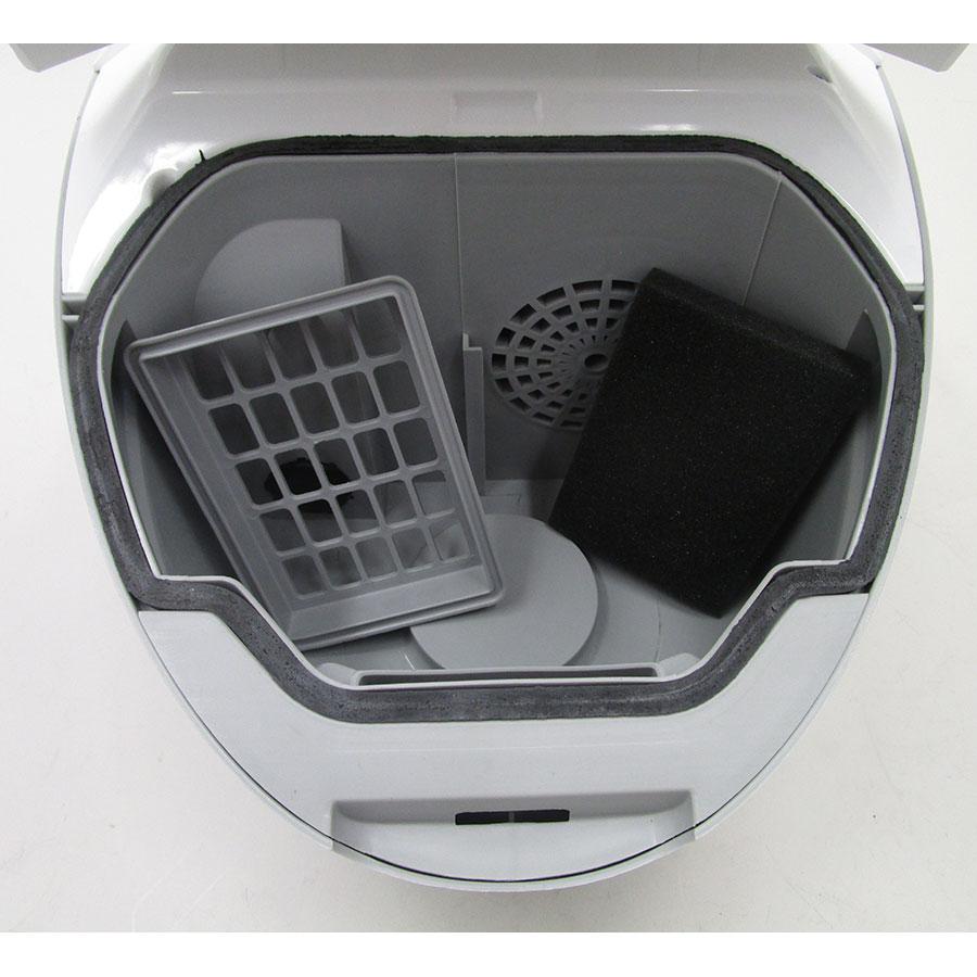 Selecline (Auchan) XD3514AW-120/870636 - Filtre entrée moteur sorti
