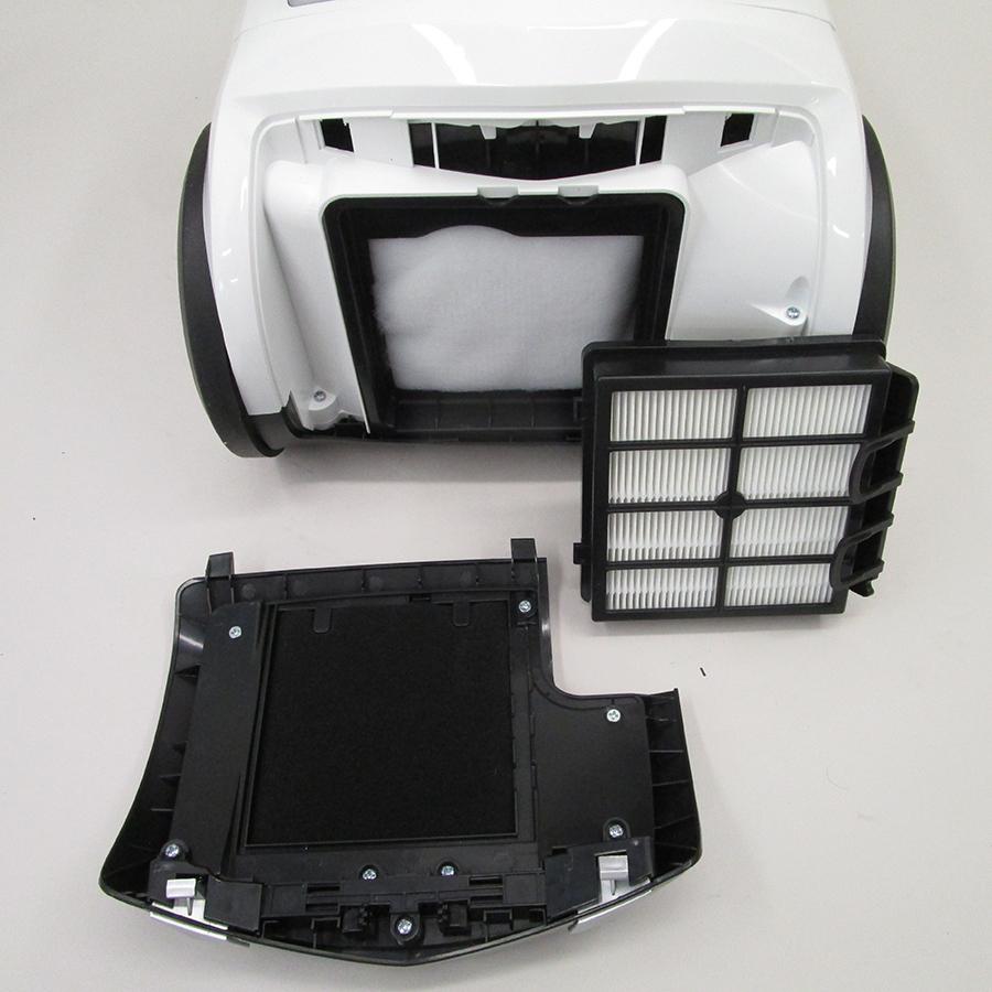 Silvercrest (Lidl) Aspirateur (IAN 332848) - Filtre sortie moteur sorti