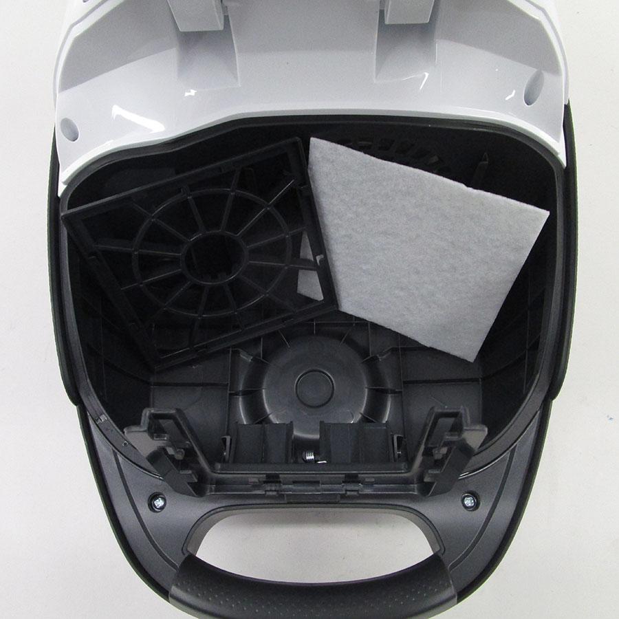 Tornado TOEG41IW Easy Go - Filtre entrée moteur sorti